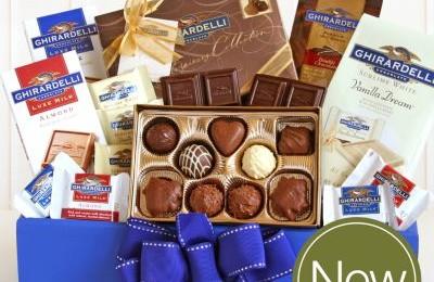 Kohls Ghirardelli Gift Baskets 50% off + 20% off + 99