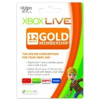 Xbox LIVE Deal: 12 Month Gold Membership only $34.99!