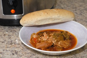 Slow Cooker Showcase: Chicken Cacciatore