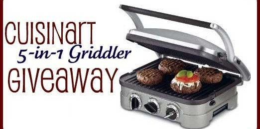 Giveaway: Cuisinart 5-In-1 Griddler *Ends 2/14*