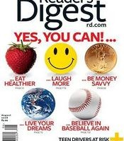 Subscribe to Readers Digest for only $4.50/year