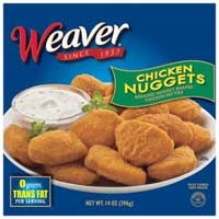 Giveaway: Weaver Chicken Nuggets *Ends 2/25*