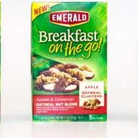 Giveaway: Emerald Breakfast on the go Oatmeal Nut Blend (3 Winners) *Ends 3/24*