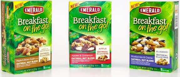 Giveaway: Emerald Breakfast on the go Oatmeal Nut Blend (3 Winners) *Ends 3/24*