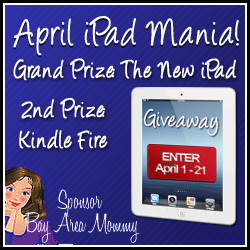 Giveaway: April iPad 3 and Kindle Fire Mania *Ends 4/21*