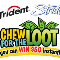 "Giveaway: Trident and Stride Want You to ""Chew For The Loot"" *Ends 3/17*"