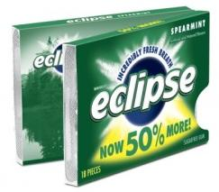 Giveaway: A Year's Supply of Eclipse Spearmint Gum *Ends 5/5*