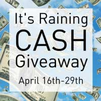 Giveaway: It's Raining $550 Cash *Ends 4/29*