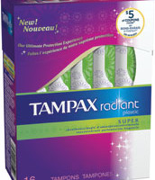Order Free Samples of Tampax and Always Radiant