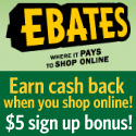 Today's Best Promo Codes from Ebates for 10/2