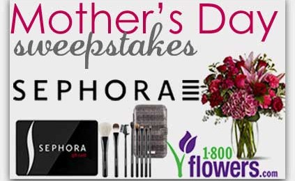 Giveaway: $50 Sephora Gift Card and $35 1-800-Flowers Gift Card *Ends 4/30*