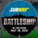 Enter the Subway Battleship Instant Win Game (Free Codes!) *Ends 6/14*