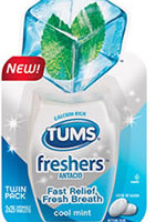 Get a Free Sample of TUMS Freshers