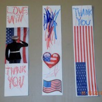Kids Frugal Craft: Military Thank You Bookmarks