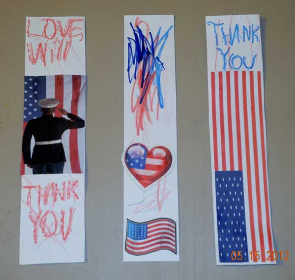 kids-craft-military-thank-you-bookmark