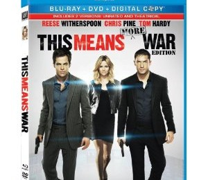 Giveaway: This Means War on DVD *Ends 6/9*
