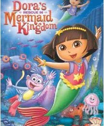 Giveaway: Dora the Explorer: Dora's Rescue in Mermaid Kingdom DVD *Ends 7/14*