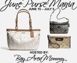 Giveaway: June Coach Purse Mania (3 Winners) *Ends 7/5*