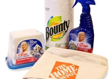 Giveaway: P&G and The Home Depot Prize Pack *Ends 7/7*