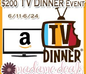 Giveaway: 26-inch 720p LCD HDTV ($200 Amazon Gift Card) *Ends 6/24*