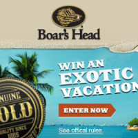 Enter to Win the Boar's Head Bold Flavor Instant Win Game *Ends 6/30*
