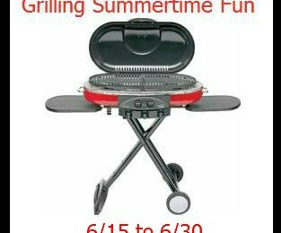 Giveaway: Coleman Grill *Ends 6/29*