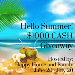 Giveaway: $1000 PayPal Cash *Ends 7/19*