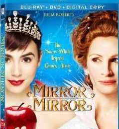 Giveaway: Mirror Mirror on DVD/Blu-Ray *Ends 7/14*
