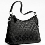Coach Madison Op Art Sateen Handbag