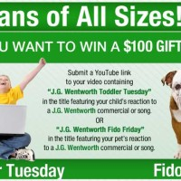 Win $100 in the J.G Wentworth Jingle Contest