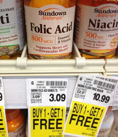 Supplement spot coupons