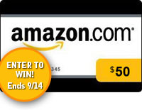 Group Giveaway: $50 Amazon Gift Card *Ends 9/14*
