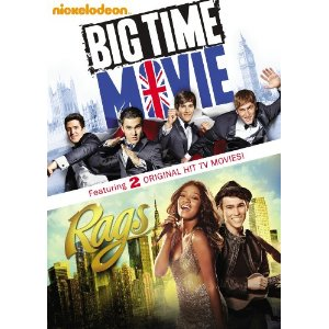 Big Time Movie and Rags Double Movie dvd