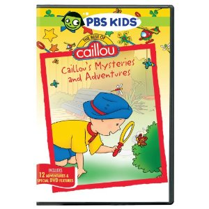 Caillou's Mysteries and Adventures DVD