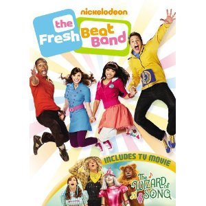 Fresh Beat Band The Wizard of Song dvd