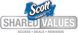 Join Scott Shared Values for Scott Coupons + Awesome Rewards!