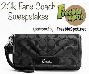 coach wristlet giveaway