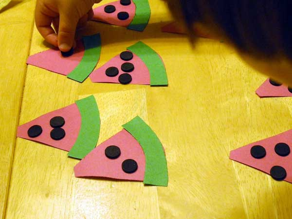 crafts-for-kids-watermelon-math-fun