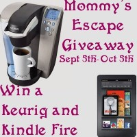 Group Giveaway: Kindle Fire and Keurig Platinum Plus Brewing System *Ends 10/5*