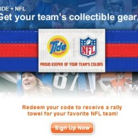 Free NFL Team Rally Towel from Tide