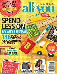 Giveaway: 1 Year Subscription to All You Magazine *Ends 9/25*