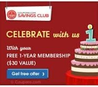 Free 1-Year Membership to Coupons.com Savings Club – Get Exclusive High Value Coupons!