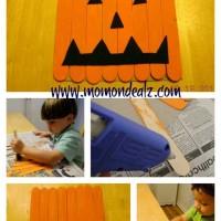 Crafts for Kids: Jack-o-Lantern Hanging Decoration