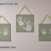 Crafts for Kids: Family Hand Print Art