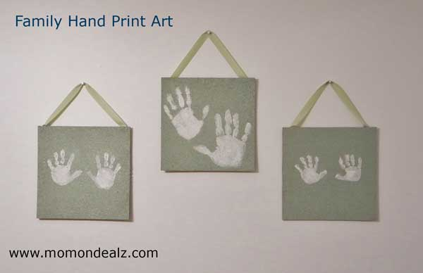 family-hand-print-art