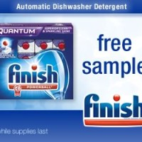 *EXPIRED* Free Sample of Finish Quantum Dishwasher Detergent