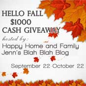 Group Giveaway: $1000 Cash! *Ends 10/22*