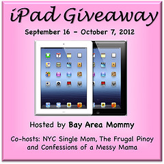 Group Giveaway: Win an iPad! *Ends 10/7*
