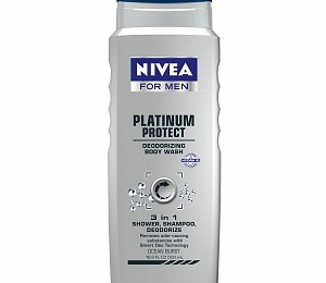 Nivea for Men Platinum Protect 3-in-1 Body Wash Sample