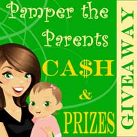 Group Giveaway: Pamper the Parents with Cash and Prizes! *Ends 11/1*